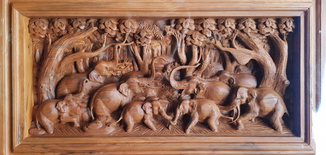 Stone and Wood Carving